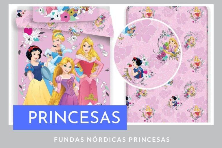 Fundas Nórdicas Princesas