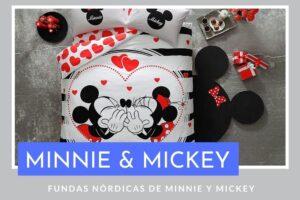 Fundas Nórdicas Minnie Mickey