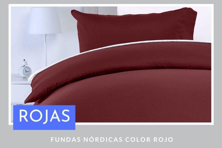 Fundas Nórdicas Rojas