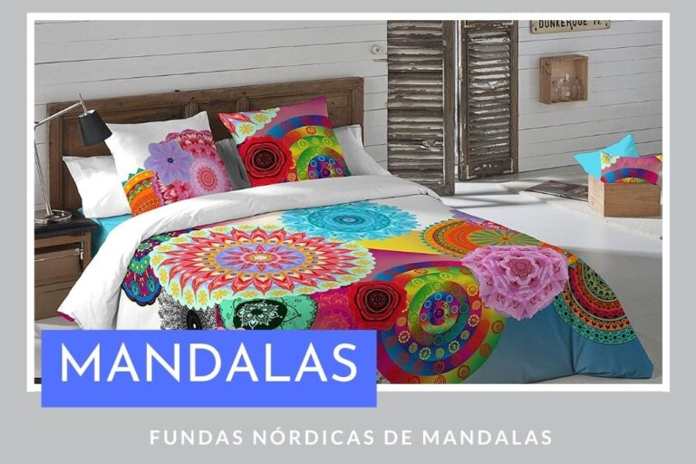 Fundas Nórdicas de Mandalas