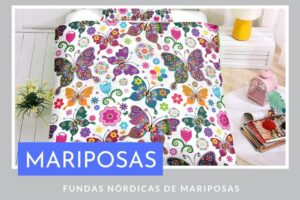 Fundas Nórdicas de Mariposas