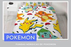 Fundas nórdicas de pokemon