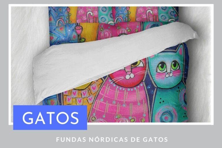 Fundas Nórdicas de Gatos