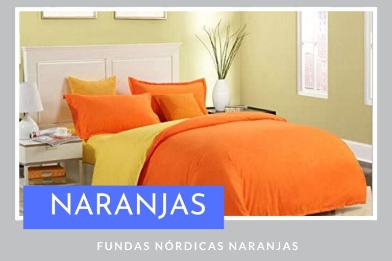 Fundas Nórdicas Naranjas